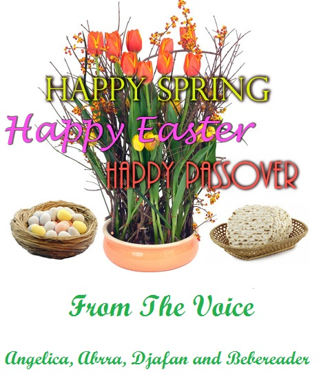 Happy Spring from The Voice