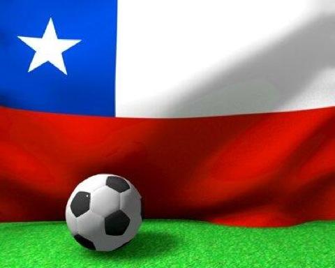 futbol chile flag